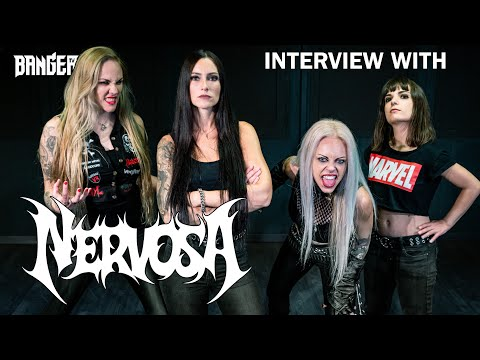 NERVOSA Interview on their new lineup and how Brazil helped shape their Blackened Thrash sound