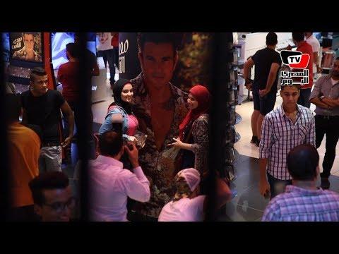 جمهور عمر دياب يحتفل بألبومه الجديد بـ«فيرجن»  - 00:21-2017 / 8 / 16