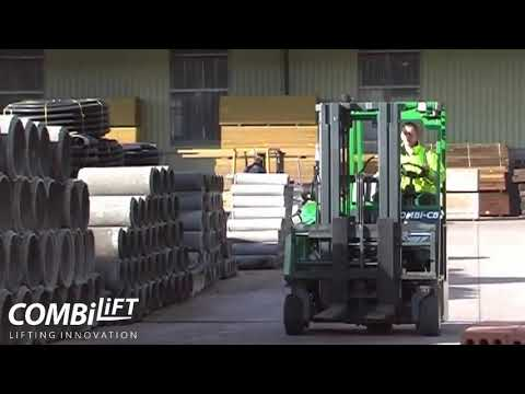 Combilift Combi CB Compact Multi Directional Forklift Building Supply Applications