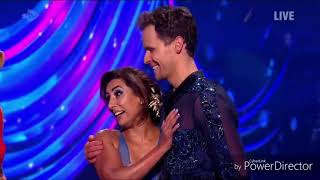 Saira Khan and Mark Hanretty skating in Dancing on Ice (27/1/19)