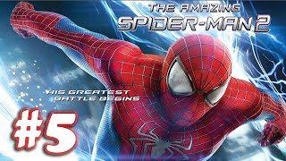 The Amazing Spider Man 2 - Gameplay Walkthrough (1080P) - Part 5 (iOS)