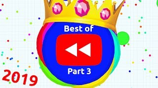 YOUTUBE REWIND BUT ITS ACTUALLY AGAR.IO BEST OF 2019 Part 3 | Agario Compilation
