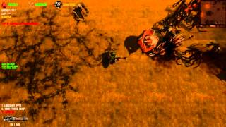 "Dead Frontier WASTELAND: Highest level BOSS in Game ""Devil Hound"""