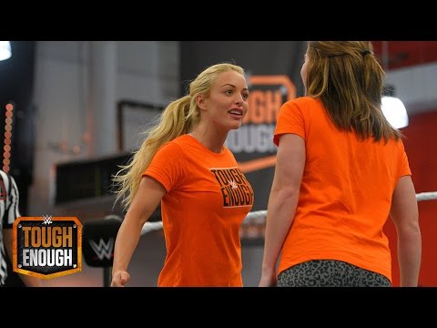 Sara Squares Off With Amanda: WWE Tough Enough, August 11, 2015