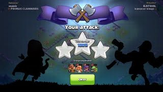 Troops selection in builder base | 100% win attack | Clash of Clans