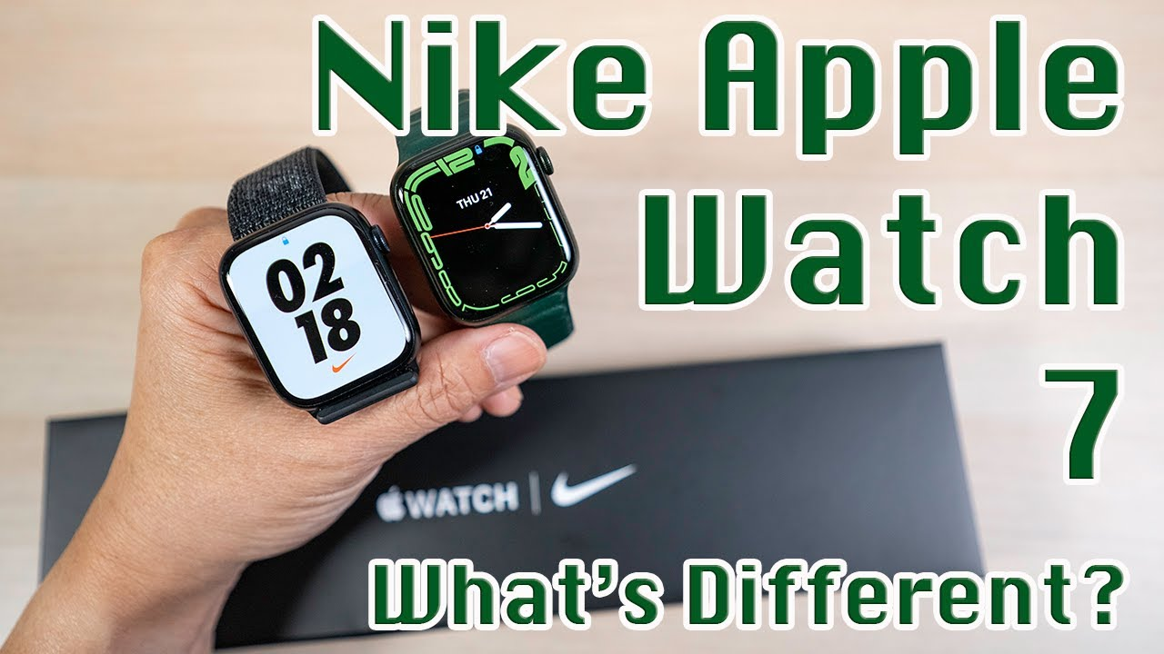 Download Nike Apple Watch Series 7 Midnight Hands On | What's Different? Get More for Your Money!