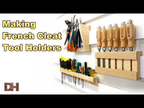 Making French Cleat Tool Holders