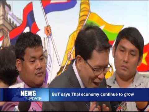 BoT: Thai economy continues to grow