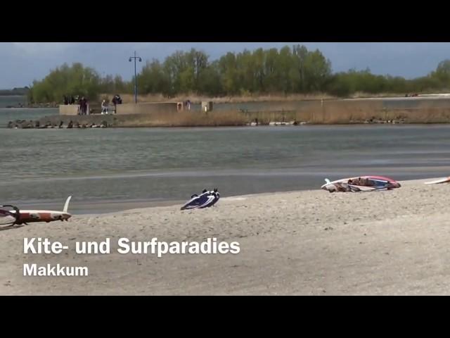 Kite- und Surfparadies Makkum