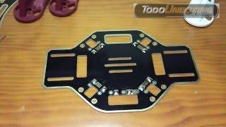 Construir un drone DJI F450 quadcopter con APM 2.6 Montaje. Parte 2