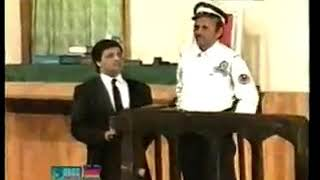 Funny questions of a lawyer in courtroom Video