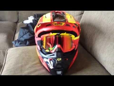 Fernando Moto - Capacete Fox V2 Roczen Edition