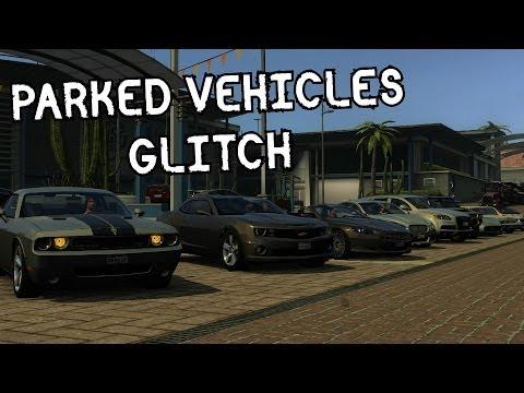 Driver San Francisco- Parked Vehicles Glitch