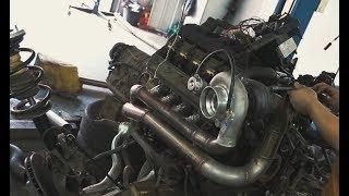 Ставим Турбину на BMW  E39 540!! Мой первый турбо V8!