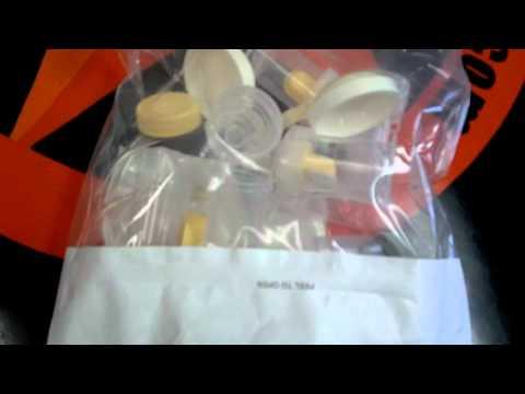 Medela Symphony Breastmilk Pump Lactina Initiation Demonstration