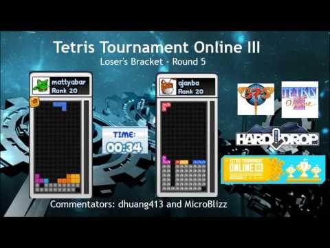 [Tetris Tournament Online III] ajanba vs. mattyabar