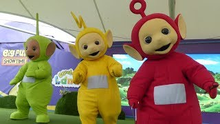 Teletubbies Live FULL SHOW at Cbeebies Land in Alton Towers
