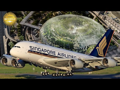 EL MEJOR AEROPUERTO DEL MUNDO: CHANGI, SINGAPUR