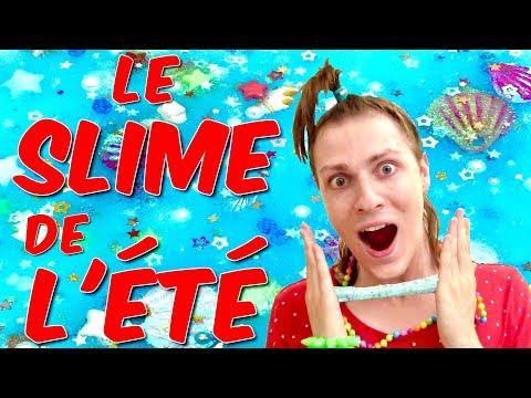 je-fais-le-slime-de-l'ÉtÉ-!-summer-slime---nadege-candle