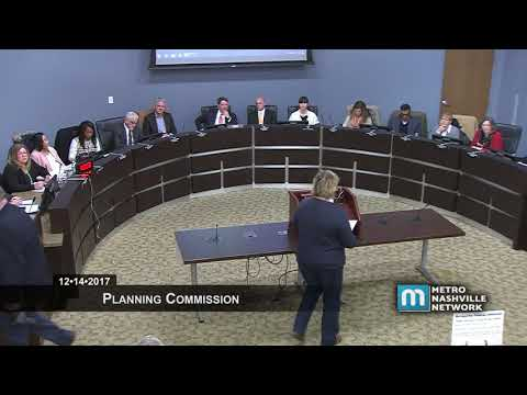 12/14/17 Planning Commission Meeting