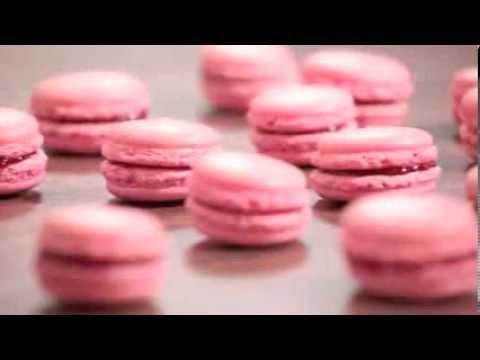 Recette Macarons A La Framboise Youtube