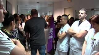 Social : les salariés inquiets à l'hôpital A. Mignot