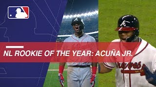 Ronald Acuna Jr. named 2018 NL Rookie of the Year