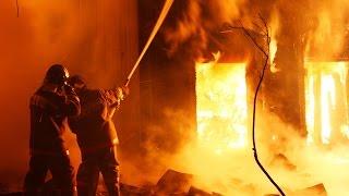 Ужасный пожар в  Васильевке потушен: сгорели восемь домов