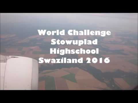 Stowupland high school world challenge expedition to Swaziland 2016