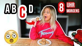 24 STUNDEN NUR nach dem ALPHABET essen!!! *FOOD CHALLENGE* ⎥ PIA