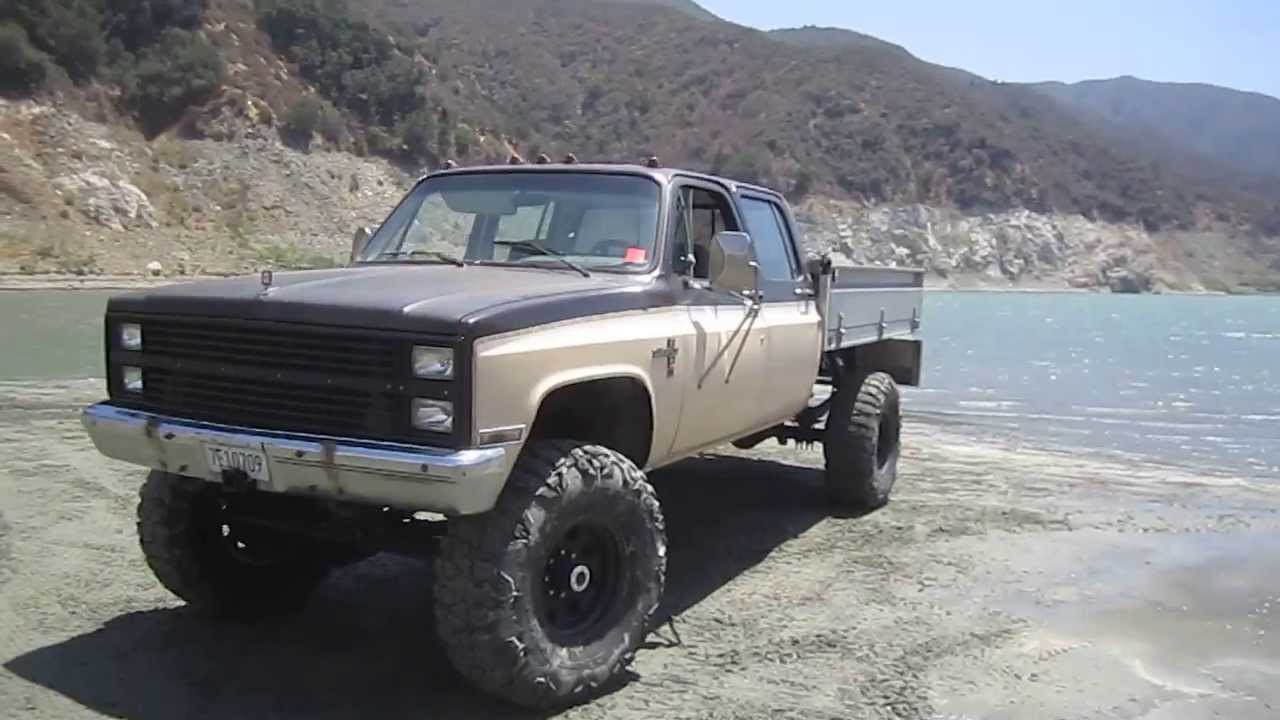 1985 Chevy K30 Crewcab