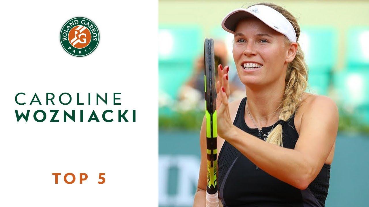 Caroline Wozniacki - TOP 5 | Roland Garros 2018