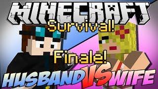 "Minecraft | HUSBAND vs WIFE SURVIVAL! | Episode 7 ""APOCALYPSE FINALE!"""