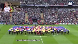 2011 UEFA Champions League Final Opening Ceremony, Wembley Stadium, London