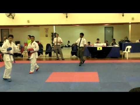 4th silent knight karate cup 2013 團體對打 第二場 黃圳傑 3棒 Mp3