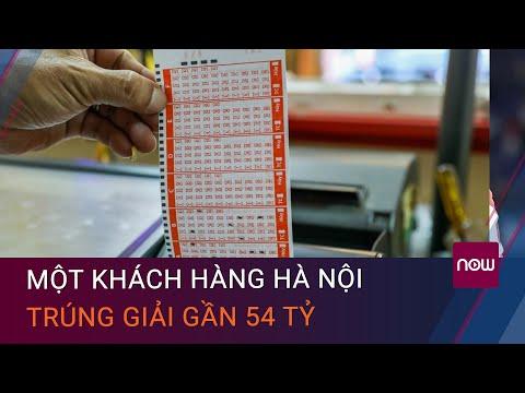 Kết quả xổ số Vietlott 3/7: Một khách hàng Hà Nội trúng giải gần 54 tỷ   VTC Now