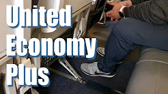 Economy Plus Seating on United Airlines Review