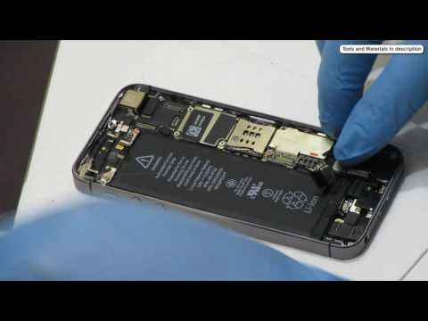 What I fix daily -  April 23, 2017 - iPhone 5S takes a wet hit