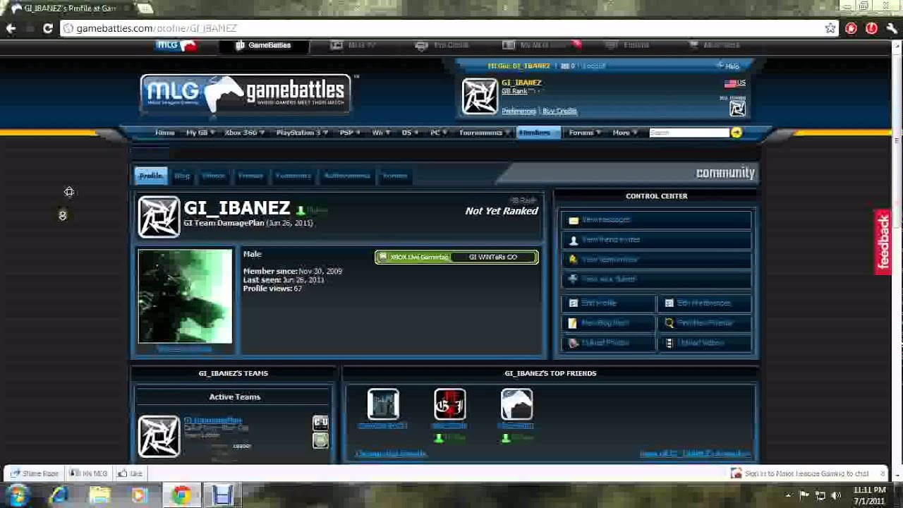how to change gamebattles gamertag