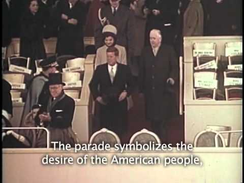 Historic Footage: JFK Inauguration, 1961
