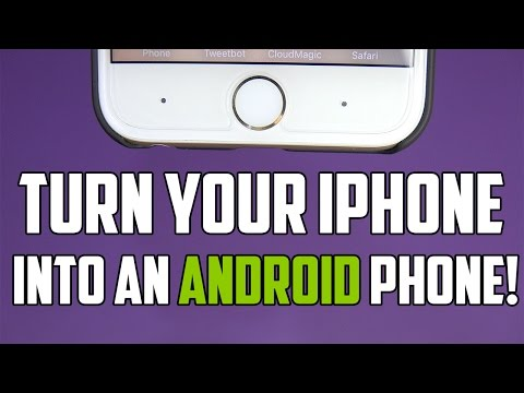 Turn Your iPhone into an Android Phone!!