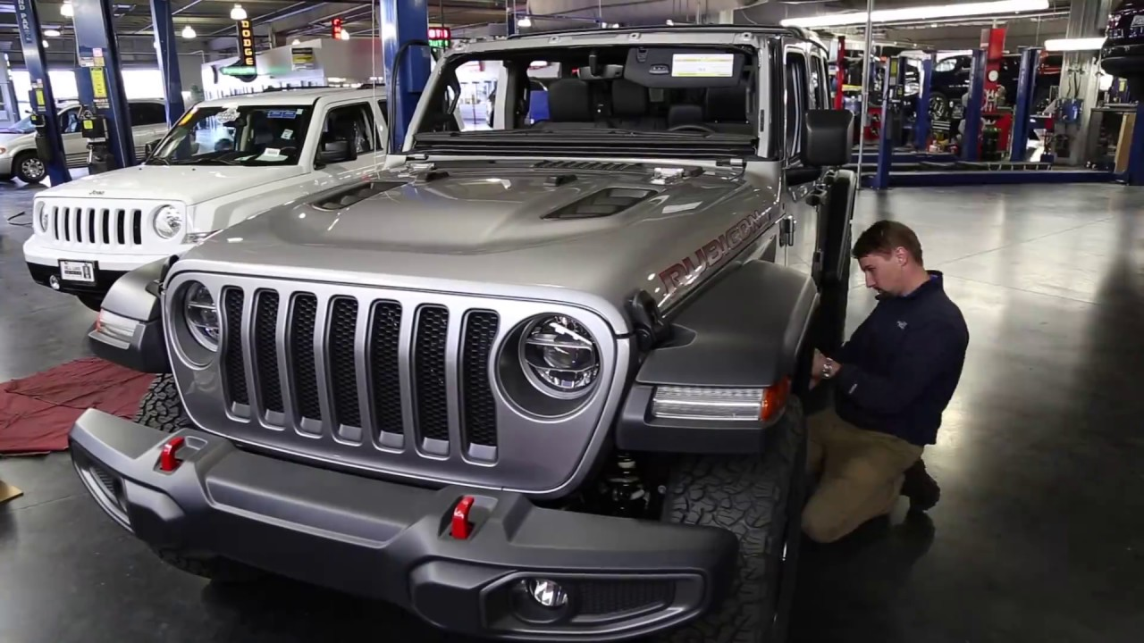 ALL NEW 2018 JEEP WRANGLER JL Rubicon on 35's & 37's - YouTube