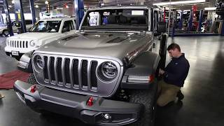 ALL NEW 2018 JEEP WRANGLER JL Rubicon on 35