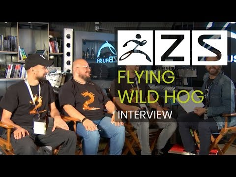 Flying Wild Hog Interview with Host Louie Tucci