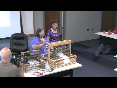 Cherokee Traditional Loom Weaving