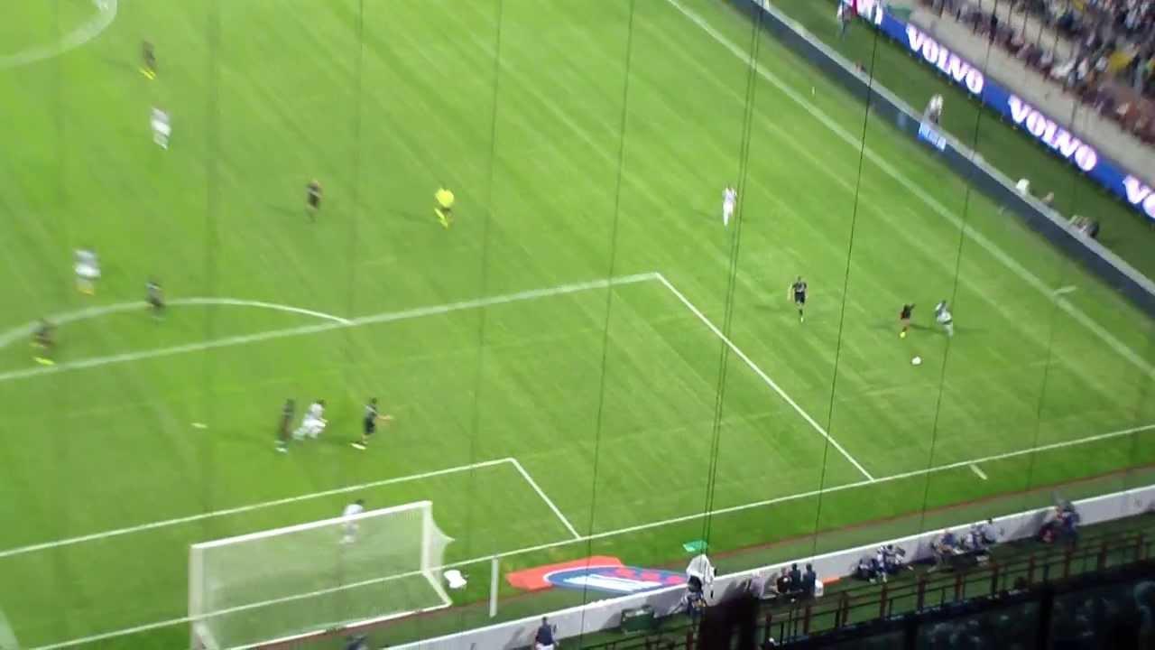 Inter Vs JUVENTUS Goal Vidal 1-1