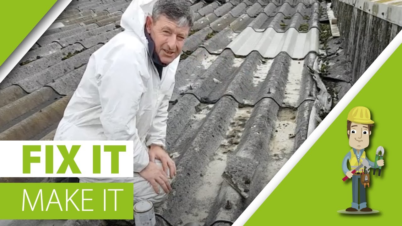How To Fix A Leaky Roof Quick And Easy Repair Youtube