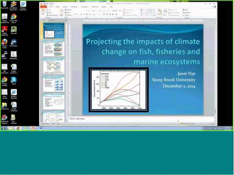 12 02 14 Marine Ecosystems Forecasting and Projecting Health and Resource Availability