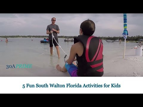5 Fun South Walton Florida Activities for Kids