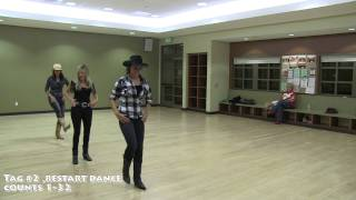 Footloose 2011 - Official Dance Adaptation Tutorial - Fake ID Linedance
